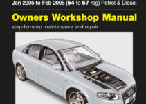 2003 Audi A4 Owners Manual Free